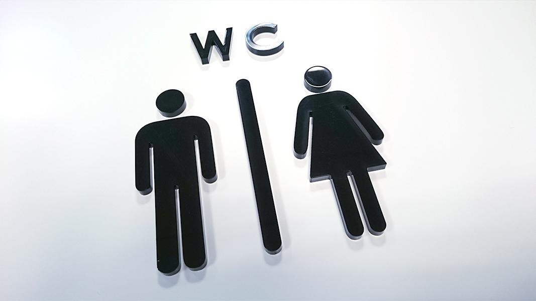 Signalétique wc